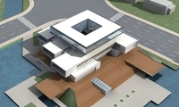 High-Rise Office Building 044 3D Model