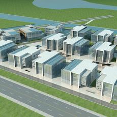 High-Rise  Office Building 046 3D Model