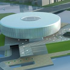 High-Rise Office Building 047 3D Model