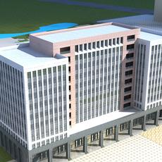 High-Rise Office Building 060 3D Model