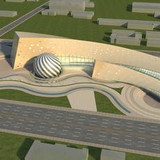 High-Rise  Office Building 063 3D Model