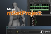 Free mSetProject for Maya 2.0.2 (maya script)