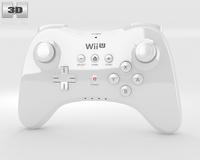 Nintendo Wii U Gamepad Pro 3D Model