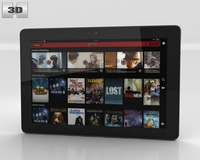 Amazon Kindle Fire HDX 8.9 inches 3D Model