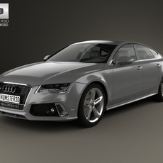 Audi RS7 (4G) sportback 2014 3D Model