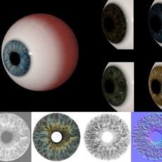 Eye Iris Textures