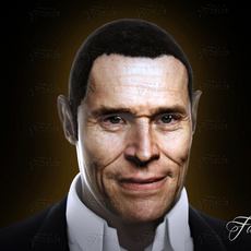 Willem Dafoe 3D Model