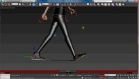 Free human walk cycle tutorial for 3dsmax