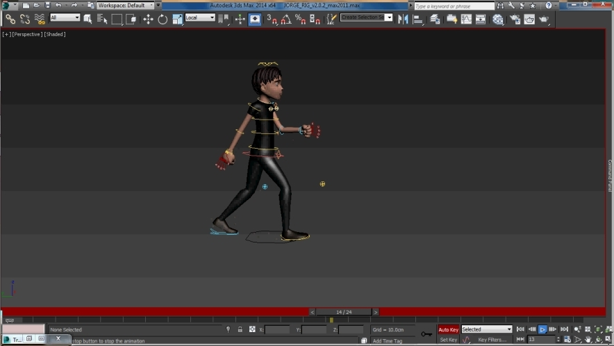 human walk cycle tutorial for 3dsmax - Free 3D Motion Data Files