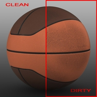Basketball ball euro 3D Model