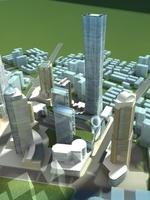 High-Rise Office Building 069 3D Model