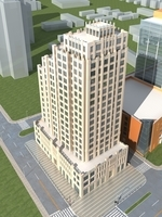 High-Rise Office Building 070 3D Model