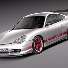 Porsche 911 GT3RS 2004 3D Model