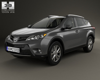 Toyota RAV4 with HQ interior 2013 3D Model