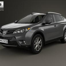 Toyota RAV4 with HQ interior 2013 3D Model