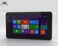 Dell Venue 8 Pro 3D Model
