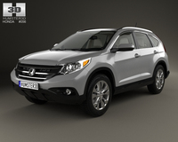 Honda CR-V US with HQ interior 2012 3D Model