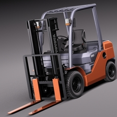Toyota Fork Lift 8FD25 3D Model