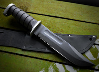 Free KA-BAR USMC combat knife (black) 3D Model