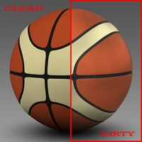 Basketball ball EBA 3D Model