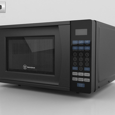 Microwave Oven Westinghouse WCM770B 3D Model