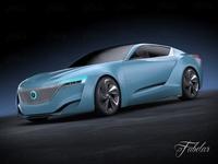 Buick Riviera concept 2013 3D Model