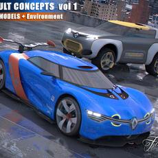 Renault concept vol. 1 3D Model