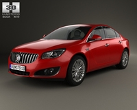 Buick Regal 2014 3D Model