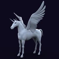 Unicorn 3D Model