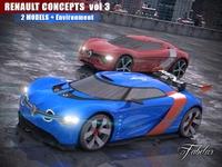 Renault concept vol. 3 3D Model