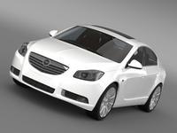 Opel Insignia ECOFlex 2008-13 3D Model