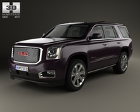 GMC Yukon Denali 2014 3D Model