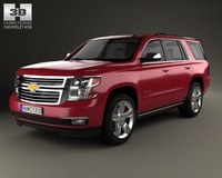 Chevrolet Tahoe 2014 3D Model
