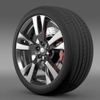 Infiniti Q70 wheel 3D Model