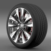 Nissan Fuga wheel 3D Model