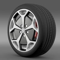 Opel Ampera wheel 3D Model