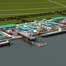 shipyard 3D Model