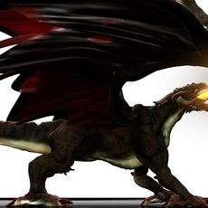 Realistic Dragon 3D Model