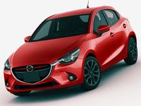 Mazda 2 Demio 3D Model
