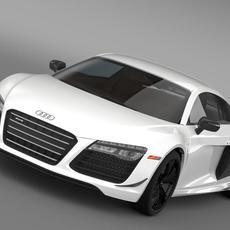 Audi R8 Competition 2015 3D Model