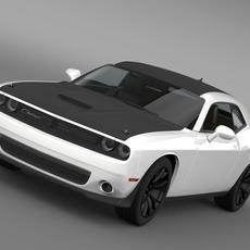 Dodge Challenger TA Concept LC 2014 3D Model
