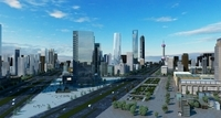 Shanghai Detailed City 3D Model