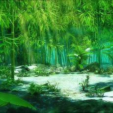 Bamboo 02 3D Model