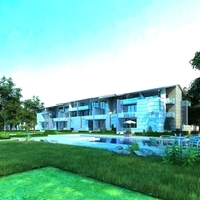 Multi Residential Building 010 3D Model