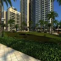 Multi Residential Building 015 3D Model