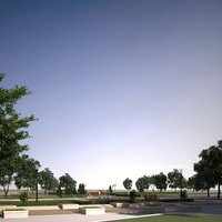 Park Landscapes 023 3D Model