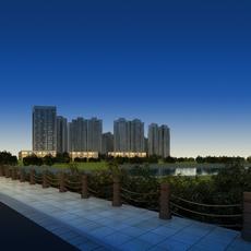 Multi Residential Building 030 3D Model