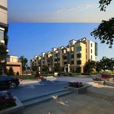 Multi Residential Building 033 3D Model