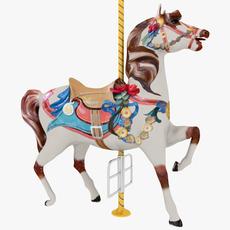 Carousel Horse 3D Model