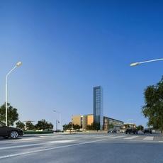 Street Landscapes 066 3D Model
